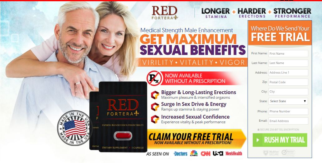 Red Fontera Natural Male Enhancement supplement