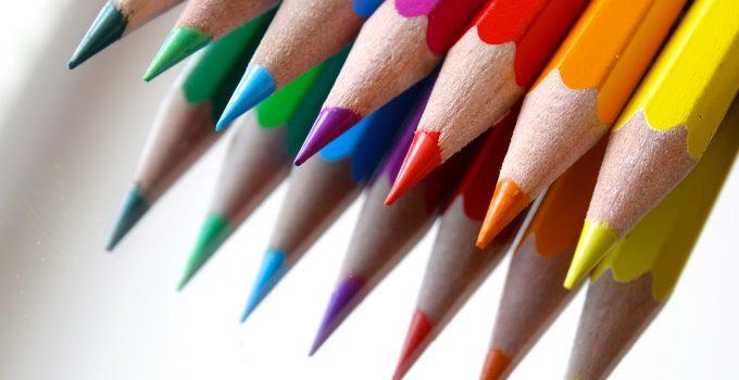 colored pencils colour pencils mirroring color 37539