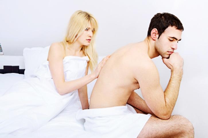 man with premature ejaculation symptoms