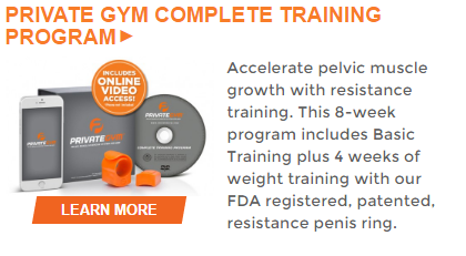 private-gym-complete pelvic muscle exercise system