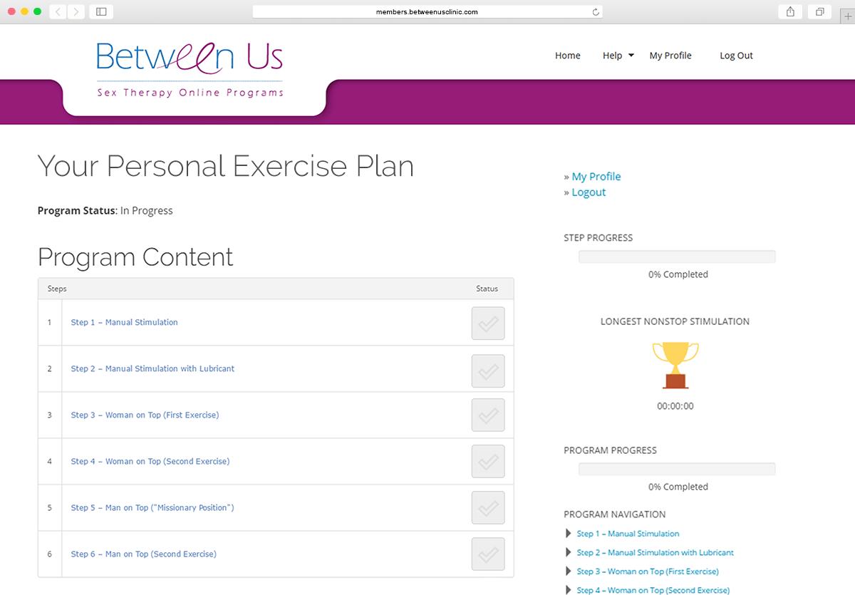 PE Exercise Plan