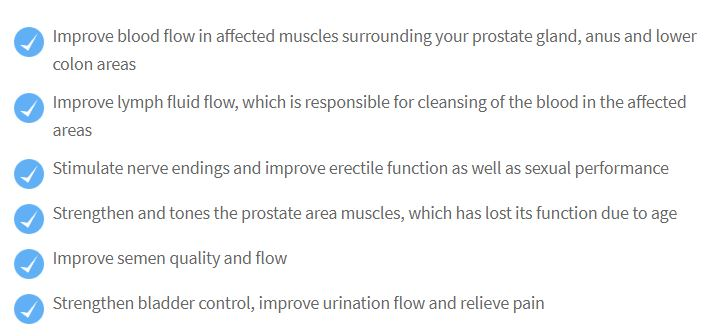 How sonic prostate massage works