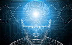 Theta brain waves