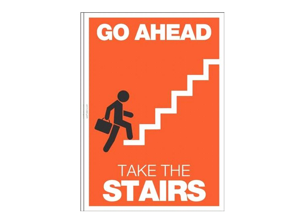 walking up stairs for exercise
