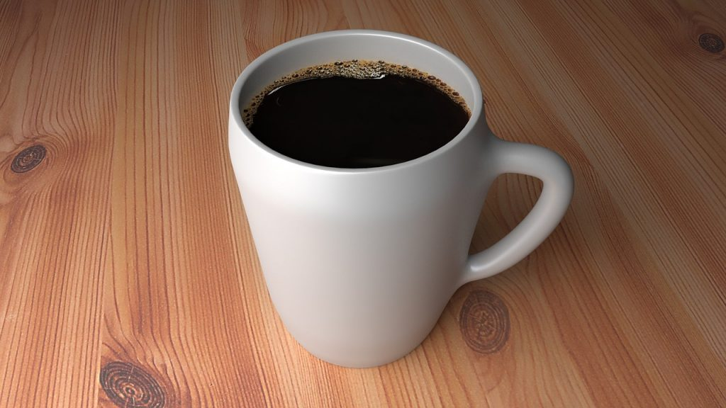eliminate coffee to remove eye puffiness