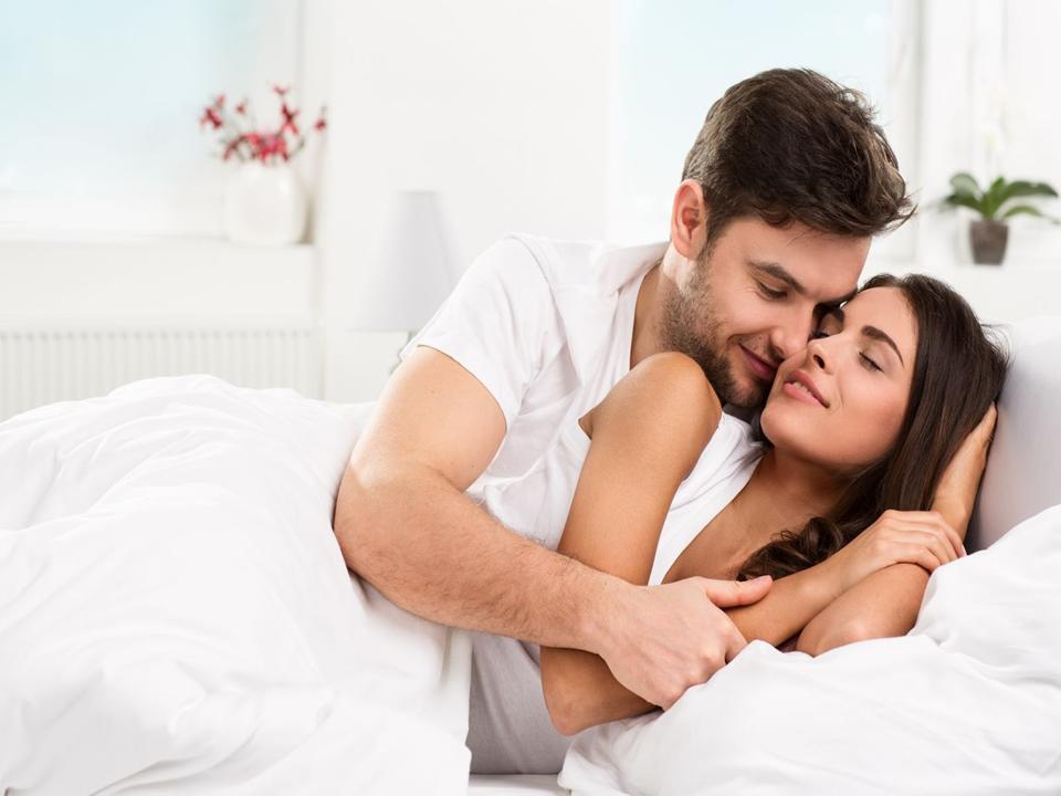 couple enjoying healthy sexlife
