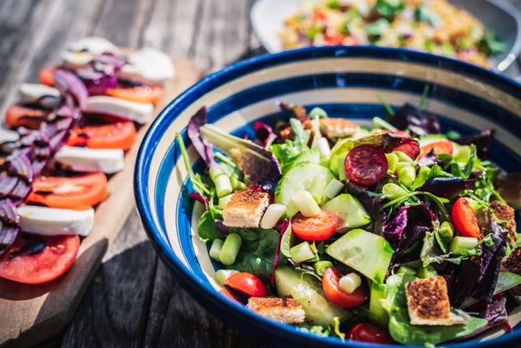 eat salad instead of meat