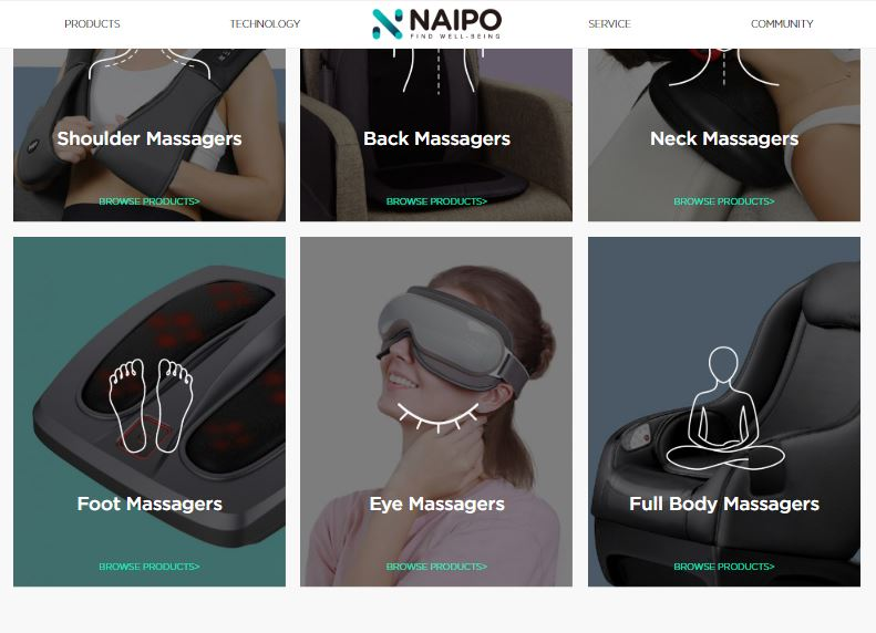 Naipo Massagers