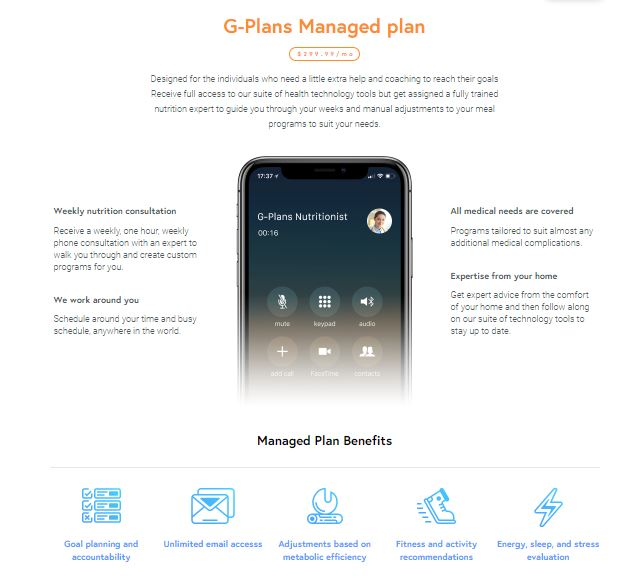 G-Plans Managed Plan