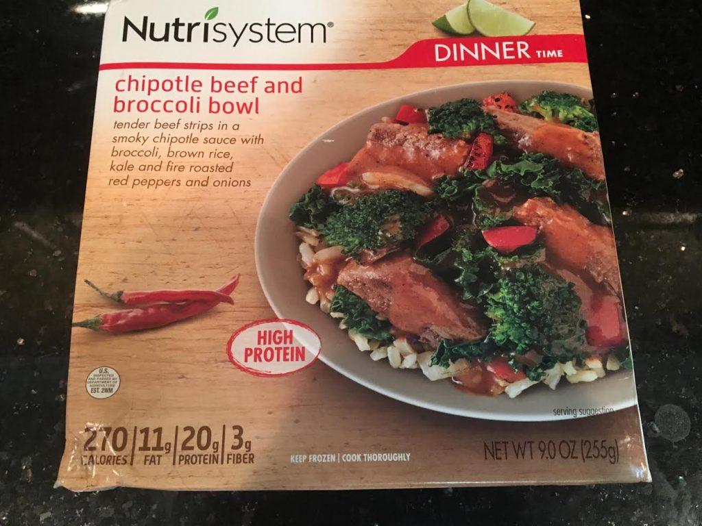 Nutrisystem box