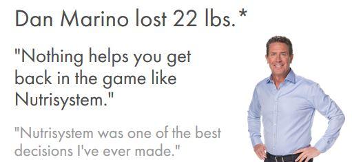 Dan Marino weight loss