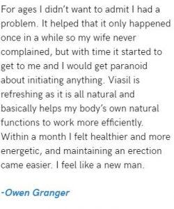 Viasil Testimonial 3