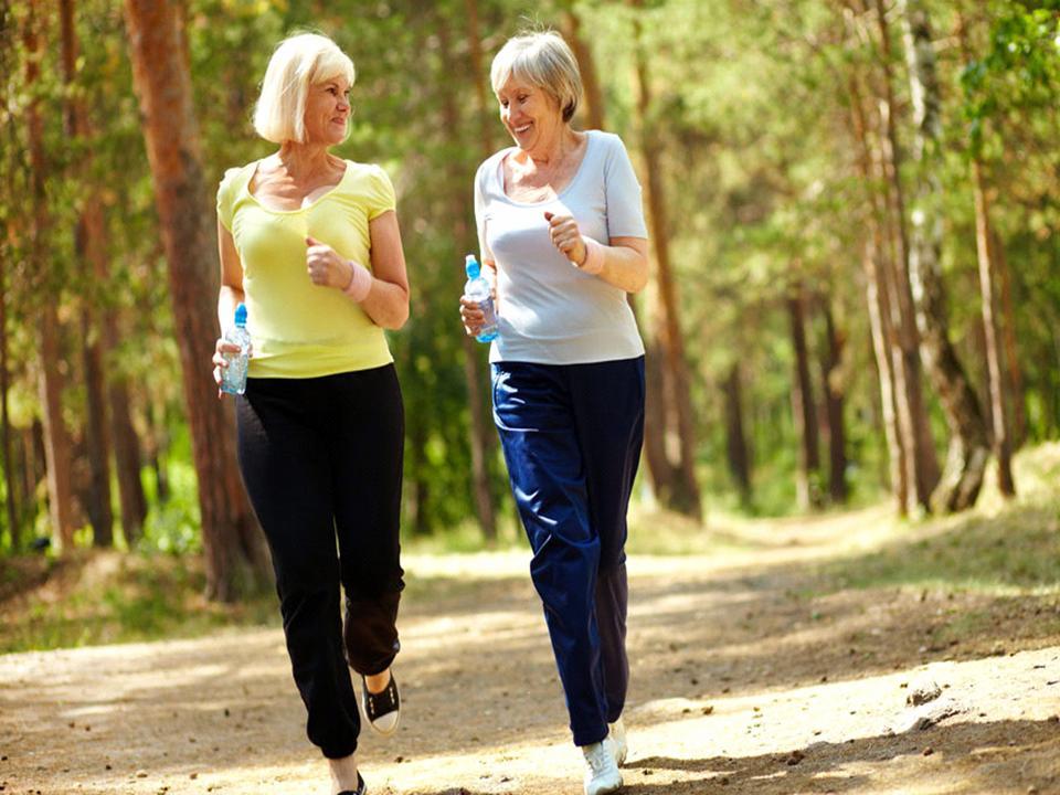 women walking for exercise