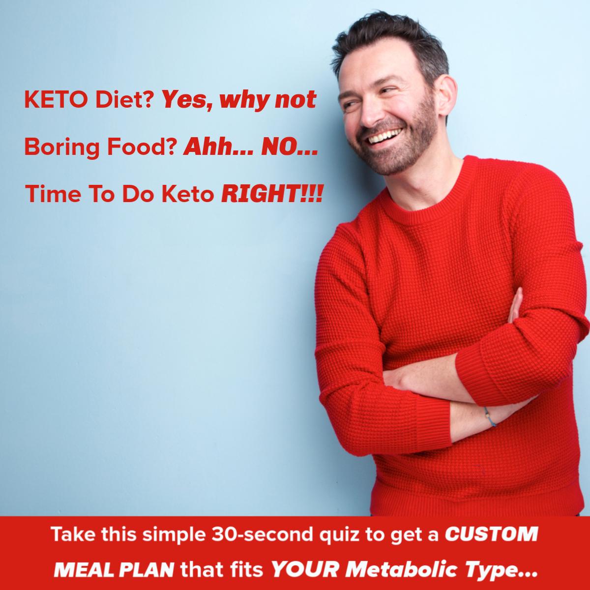 keto diet for men