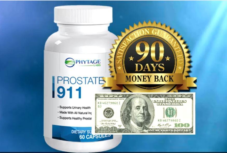 Prostate 911 Guarantee