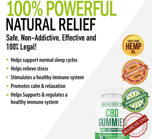 Bio Wellness CBD Benefits