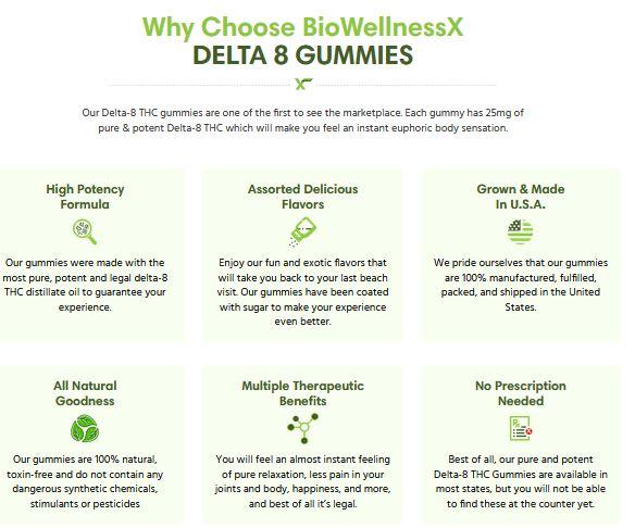 Benefits of Delta-8 Gummies